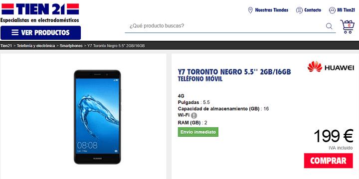 Imagen - Dónde comprar el Huawei Y7