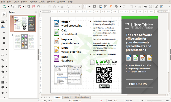 Imagen - Descarga ya LibreOffice 6.0 gratis