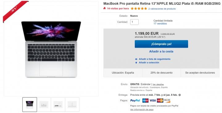 Imagen - Oferta: MacBook Pro Retina y iPad de 9,7 pulgadas con casi un 30% de descuento