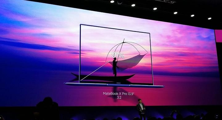 Imagen - Huawei MateBook X Pro, el nuevo portátil TouchScreen con pantalla sin bordes