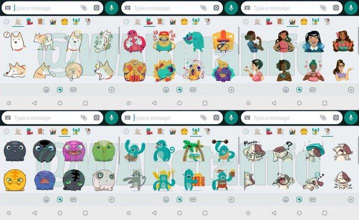 Imagen - Conoce los 6 packs de stickers que prepara WhatsApp