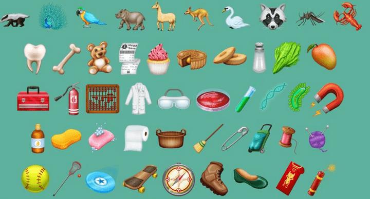 Imagen - Llegan los emojis de 2018: canguros, pelirrojos, monopatines, dinamita...