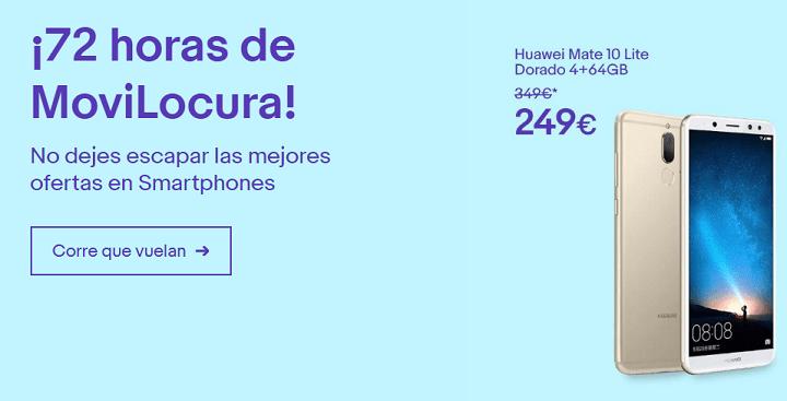 Oferta: smartphones con hasta el 35% de descuento en eBay por el MWC 2018