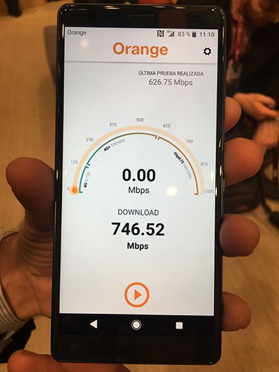 Imagen - Orange ya trabaja en el 5G y alcanza velocidades de 25 Gbps en fibra óptica