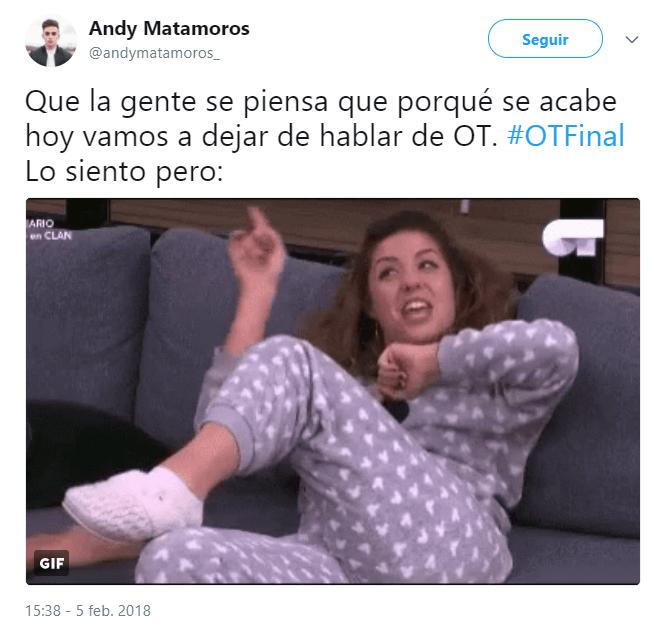 Imagen - Los mejores memes de la gala final de OT 2017