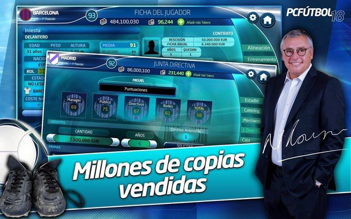 Imagen - Descarga ya PC Fútbol 18 para Android