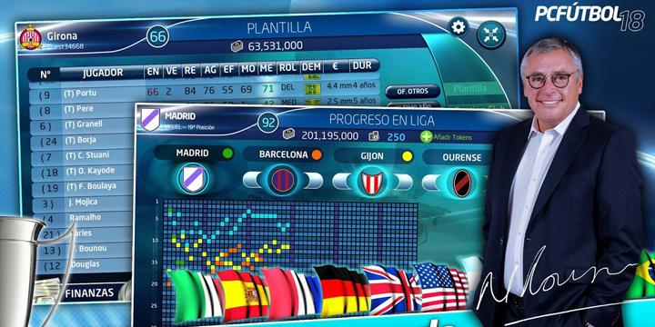 Descarga ya PC Fútbol 18 para Android