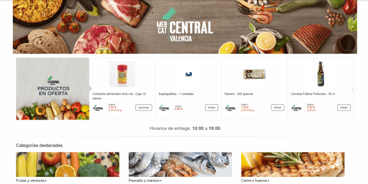 Imagen - Amazon Prime Now llega a Valencia: alimentos frescos del mercado en solo 1 hora