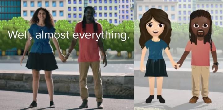 Imagen - Tinder propone nuevos emojis con parejas interraciales