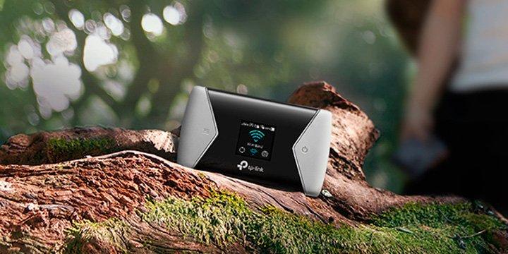 TP-Link M7450, un router 4G portátil para llevar el Wi-Fi a cualquier lugar
