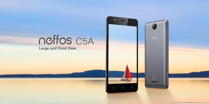 Neffos C5A, el nuevo smartphone de TP-Link llegará en 2018