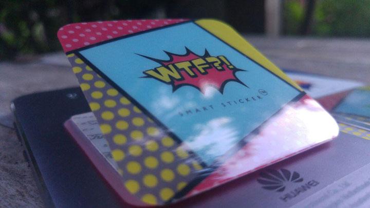Imagen - Review: WTF?! Smart Stickers, pega tu móvil en cualquier lugar con este accesorio