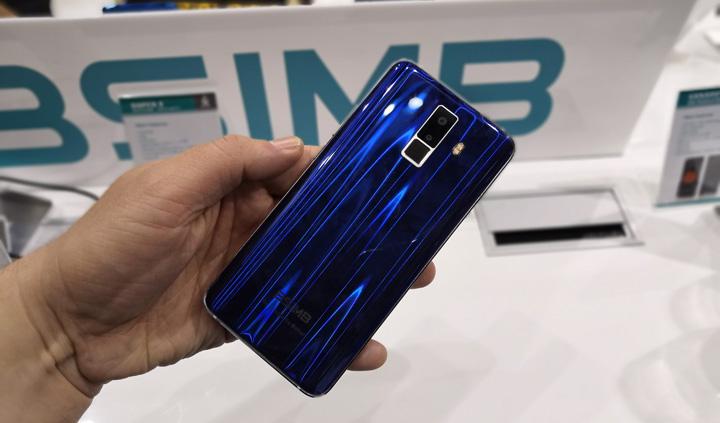"""Imagen - BSIMB Super X, un smartphone """"todo pantalla"""" con resistencia al agua y carga inalámbrica"""