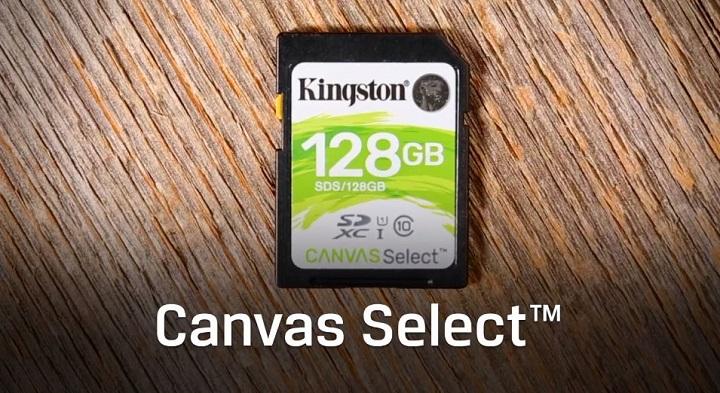 Imagen - Canvas Select, Go! y React, las nuevas SD y microSD de Kingston para vídeo y fotos