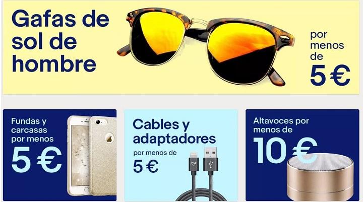 Imagen - Por menos de diez, la nueva sección de eBay para comprar artículos por menos de 10 euros