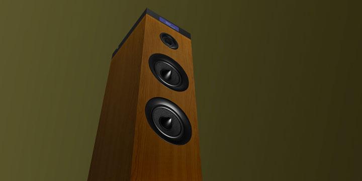 Imagen - Energy Tower G2 Wood, un altavoz inalámbrico diseñado en madera