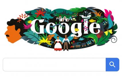 Imagen - Google dedica su Doodle al escritor Gabriel García Márquez