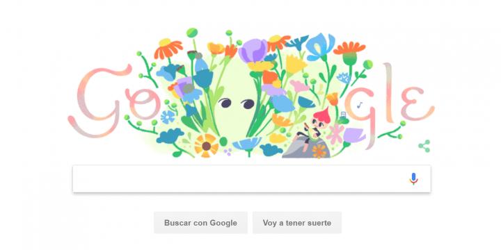 Imagen - Google lanza un Doodle por el equinoccio de primavera