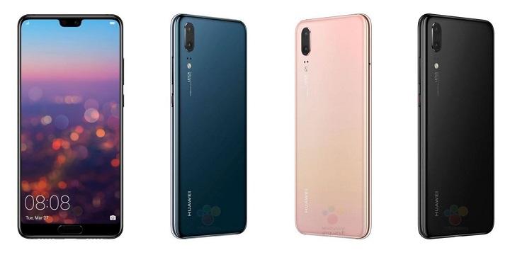 Imagen - Así serían los Huawei P20 Pro, Huawei P20 y Huawei P20 Lite
