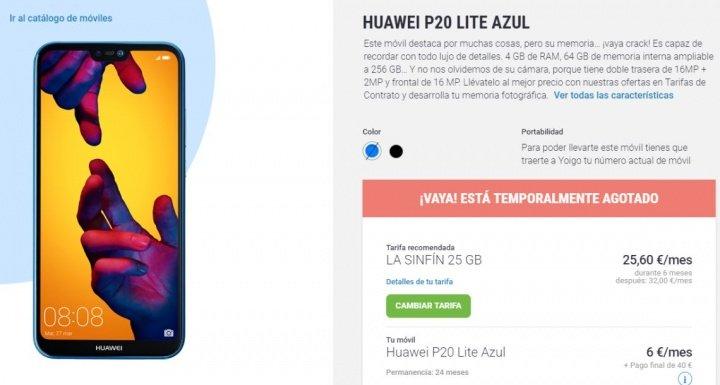 Imagen - Huawei P20 Lite, filtrado al completo: conoce todos los detalles