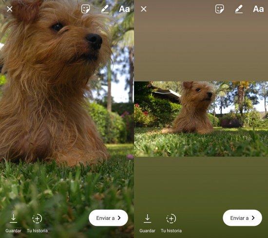 Imagen - Instagram Stories ya permite publicar imágenes horizontales