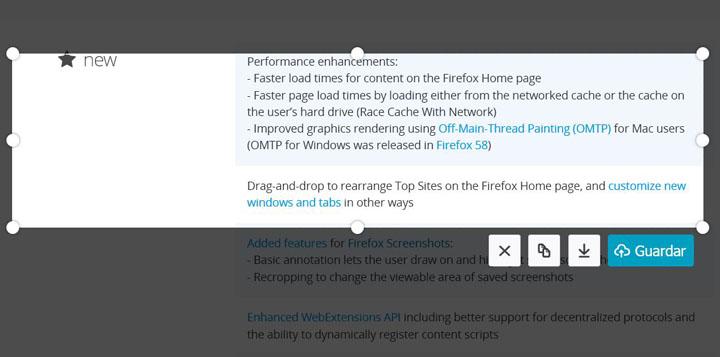 Imagen - Descarga Mozilla Firefox 59 con mejor velocidad y más opciones de privacidad