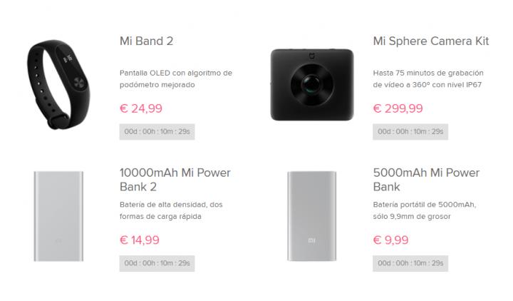Imagen - Oferta: Xiaomi lanza una venta flash desde 1 euro en su web española