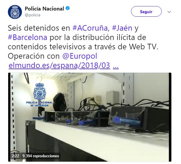 Imagen - 6 detenidos españoles en Blusens por unos presuntos reproductores pirata