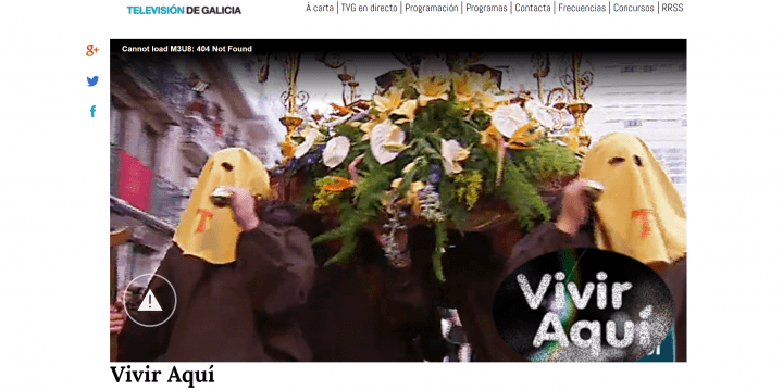 Imagen - Cómo ver online los pasos y procesiones de Semana Santa 2018