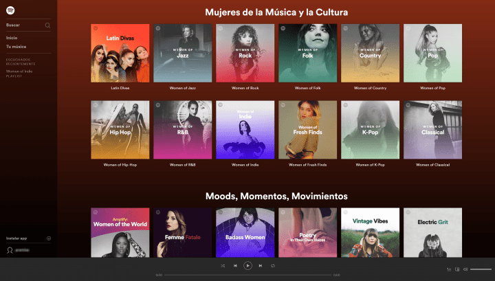 Imagen - Spotify lanza Amplify por el Día Internacional de la Mujer