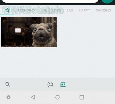 Imagen - WhatsApp añadirá categorías y destacados al buscador de GIFs