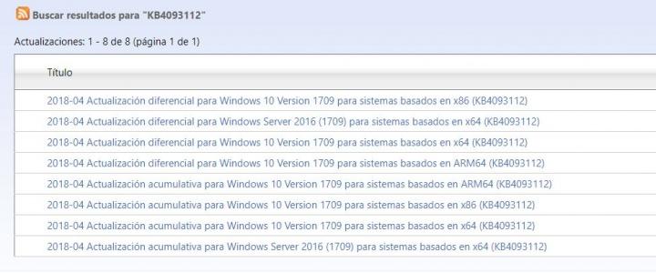 Imagen - Cómo solucionar los problemas con la actualización KB4093112
