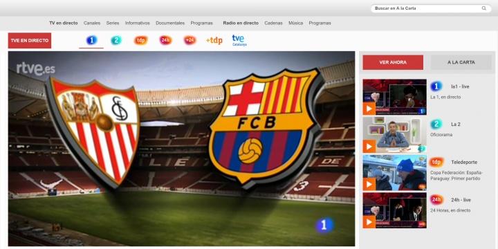 Imagen - Cómo ver online el Sevilla - Barcelona de la final de la Copa del Rey
