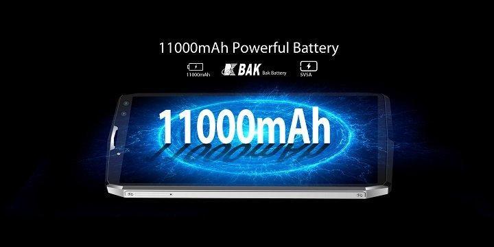 Blackview P10000 Pro prueba la autonomía de la batería de 11.000 mAh en vídeo