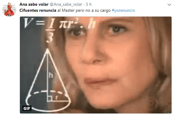 Imagen - Los mejores memes de la renuncia de Cifuentes al máster