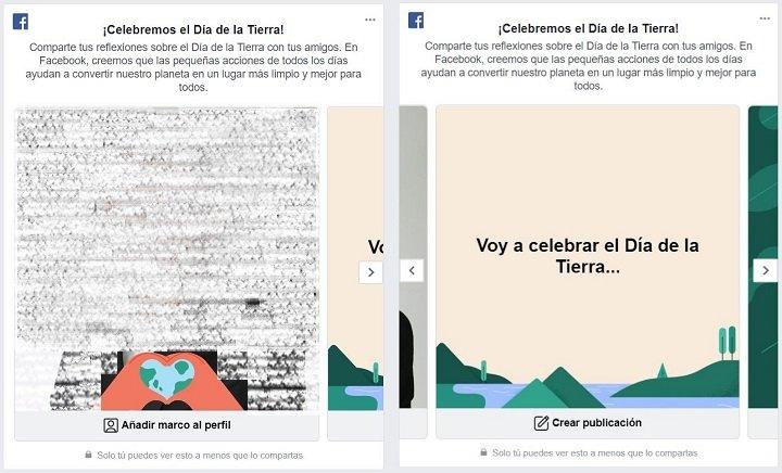 Imagen - Facebook celebra el Día de la Tierra con tarjetas, marcos y publicaciones personalizadas