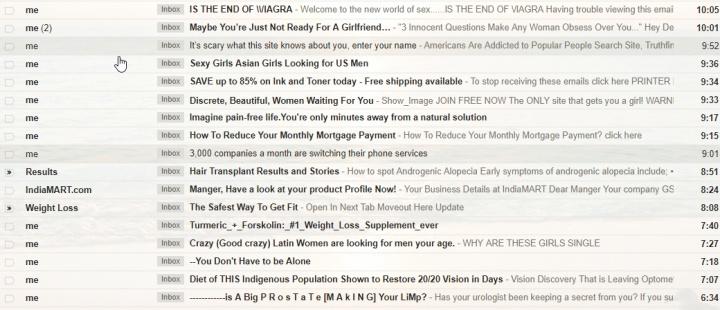 Imagen - Gmail envía spam desde tu cuenta