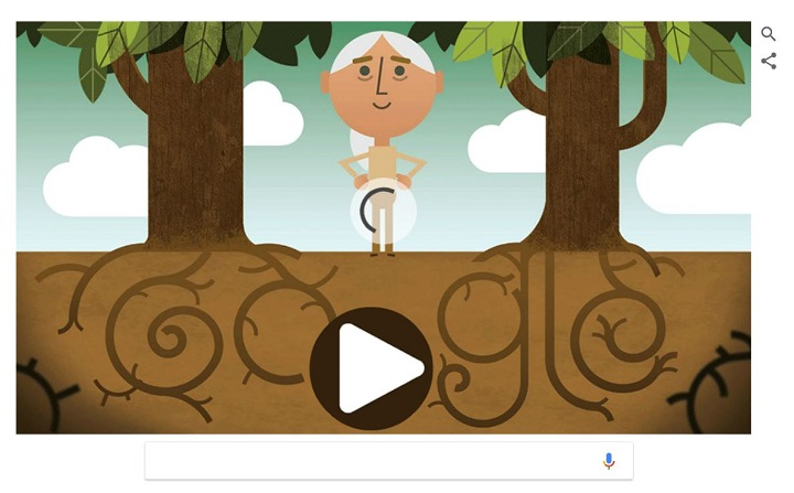 Imagen - Google celebra el Día de la Tierra con un doodle de vídeo