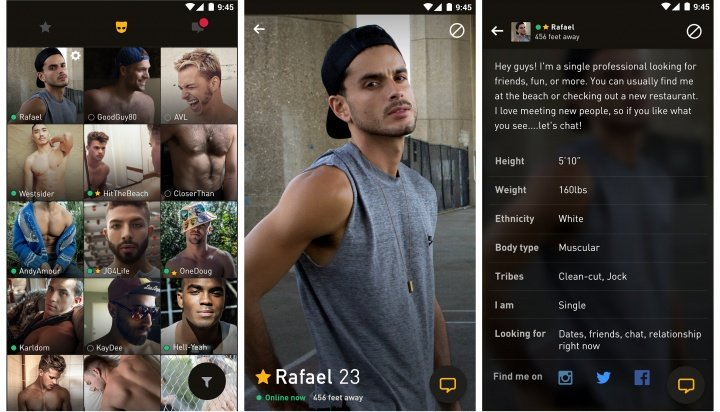 Grindr app for android tablet