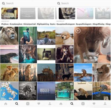 Imagen - Instagram añadirá hashtags y categorías a Explorar