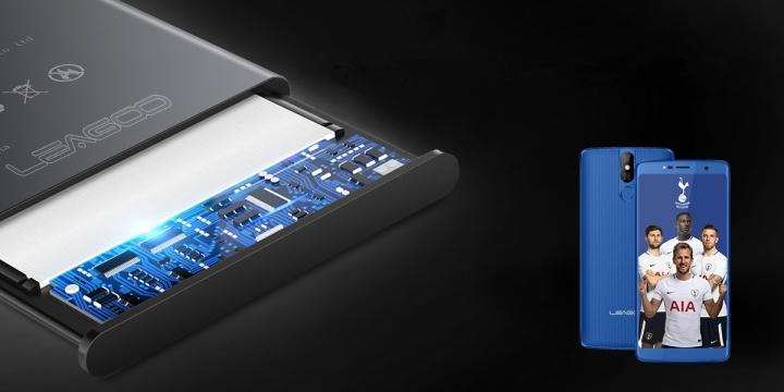 Leagoo Power 5 monta una batería certificada de 7.000 mAh