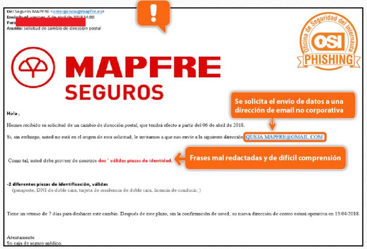 Imagen - Cuidado con los falsos correos de Mapfre