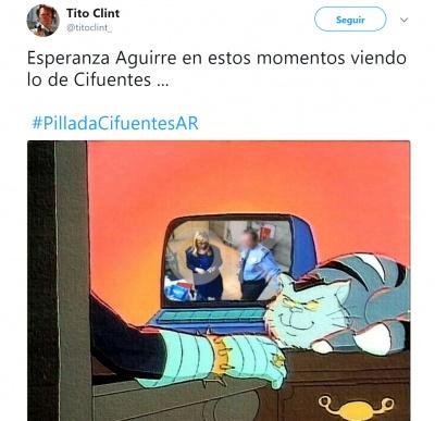 Imagen - Los mejores memes del robo y la dimisión de Cifuentes