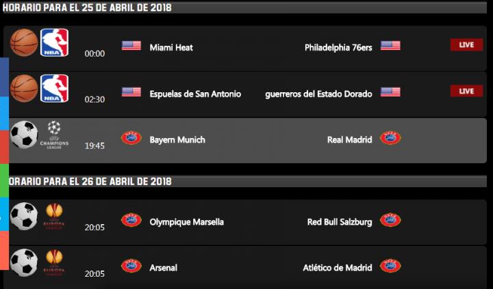 Imagen - Dónde ver online el Bayern vs Real Madrid de semifinales de Champions