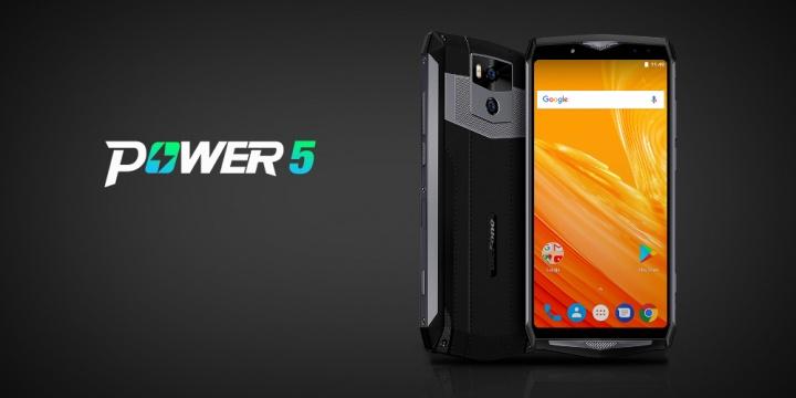 Ulefone Power 5, el smartphone con batería de 13.000 mAh y hasta 7 días de autonomía