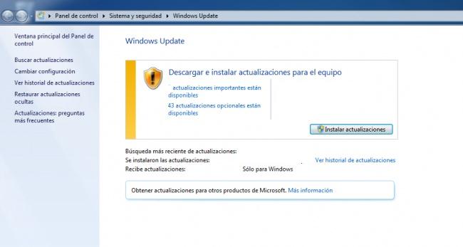 Imagen - La actualización KB4093118 falla al instalarse
