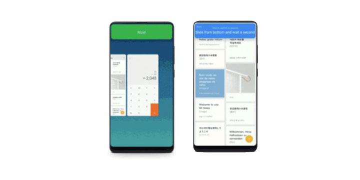 Imagen - MIUI 9.5 lleva a los móviles Xiaomi los gestos de navegación del iPhone X