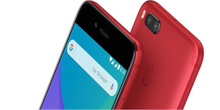 Xiaomi Mi A2, filtradas las variantes de color y almacenamiento