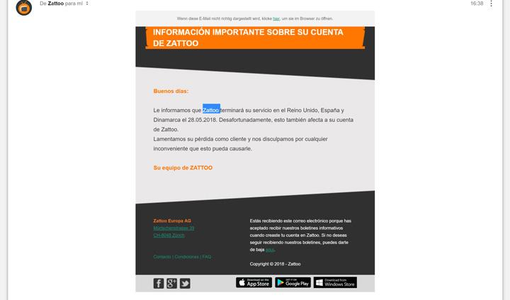 Imagen - Zattoo, el servicio para ver televisión online, cierra en España