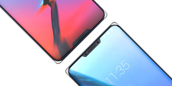 ZTE Iceberg, un smartphone con dos notch